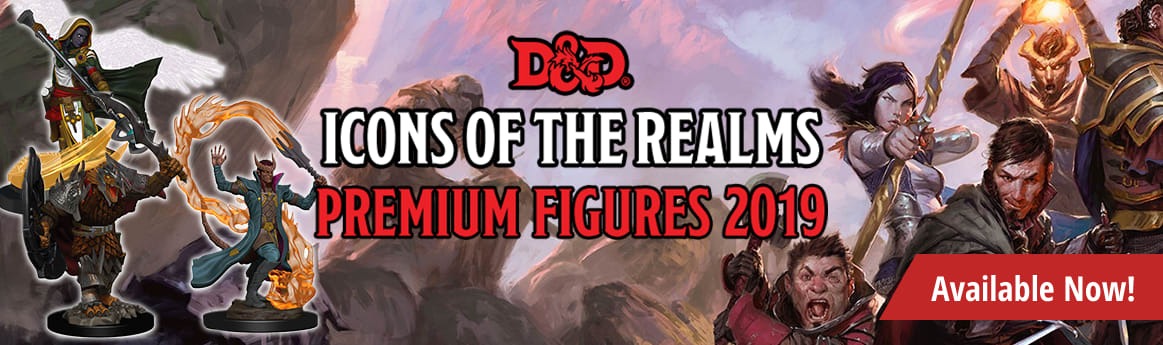 Dungeons & Dragons - Icons of the Realms: Premium Figures 2019