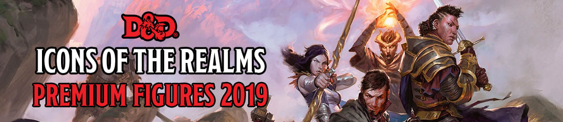 Dungeons and Dragons - Icons of the Realms: Premium Figurines 2019