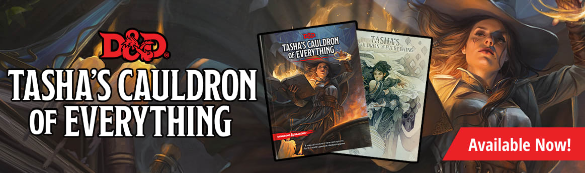 Dungeons and Dragons Tasha's Couldron of everything available now