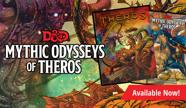 Dungeons & Dragons: Mythic Odysseys of Theros available now