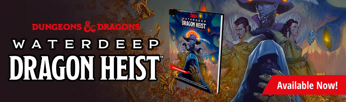 Dungeons and Dragons: Waterdeep Dragon Heist