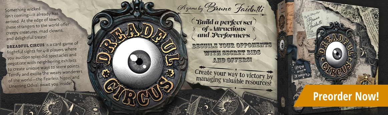 Preorder Dreadful Circus today!