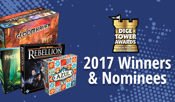 The Dice Tower Awards 2017