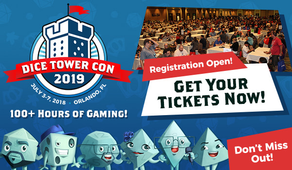 Dice Tower Con 2019 - Tickets Available Now