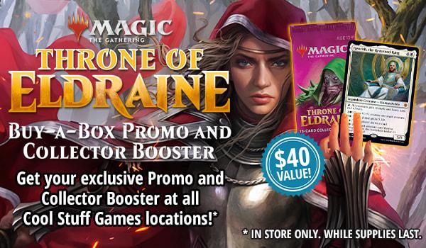 Throne of Eldraine Buy-a-Box Promo