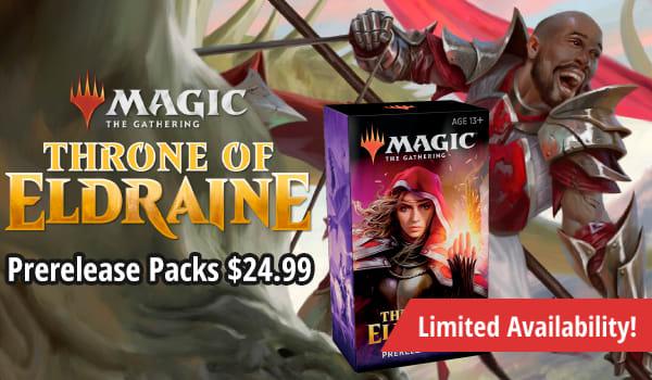 Throne of Eldraine Prerelease Packs only $24.99