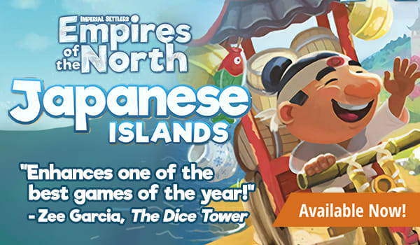 Empires of the North Japanese Islands Expansion available now