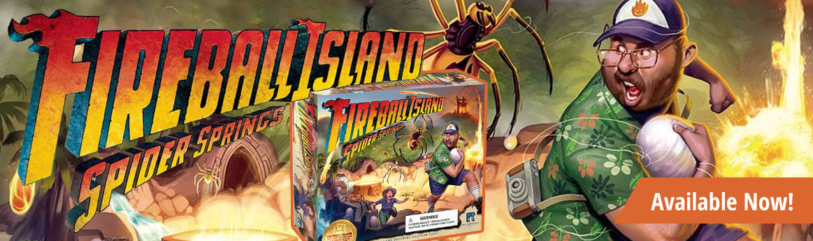 Fireball Island Spider Springs