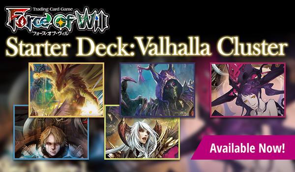 Valhalla Cluster Starter Decks