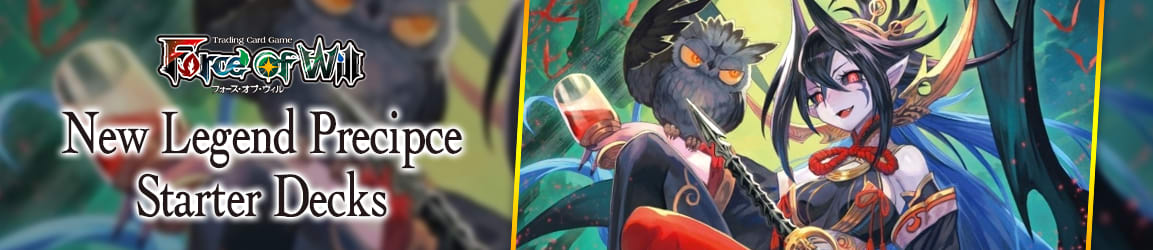 Force of Will - New Legend Precipice Starter Decks