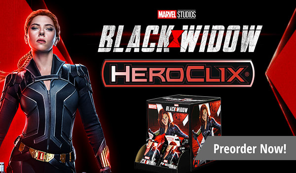 Preorder Marvel HeroClix Black Widow Movie today