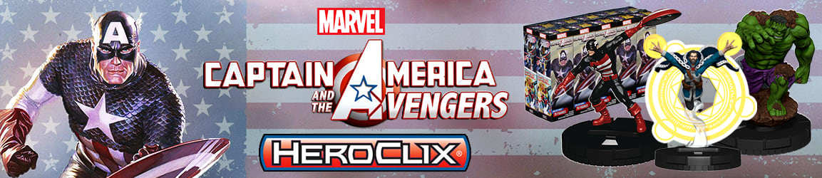 HeroClix - Captain America and the Avengers