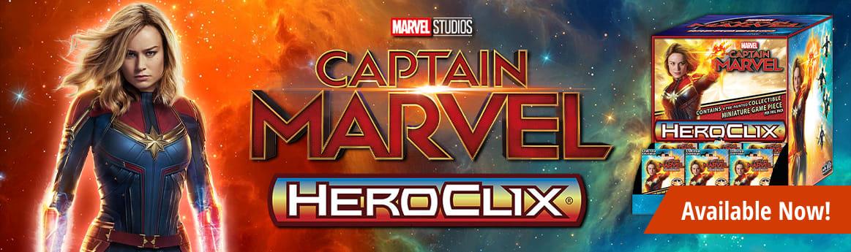 Marvel HeroClix - Captain Marvel Movie