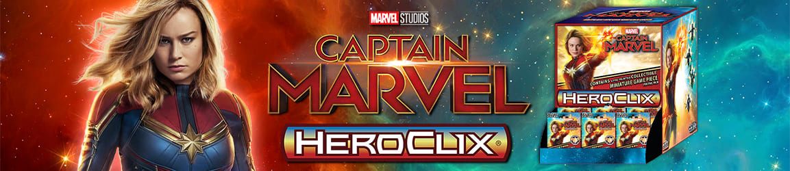 HeroClix - Captain Marvel Movie