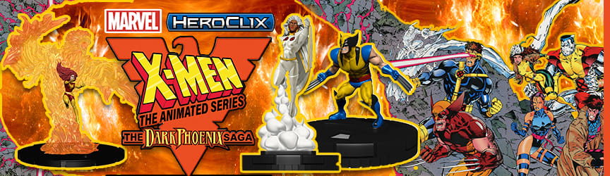 Marvel HeroClix - X-Men the Animated Series, the Dark Phoenix Saga