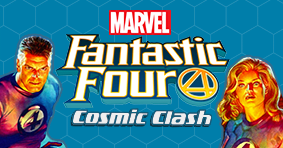 Marvel HeroClix Fantastic Four Cosmic Clash is available now!