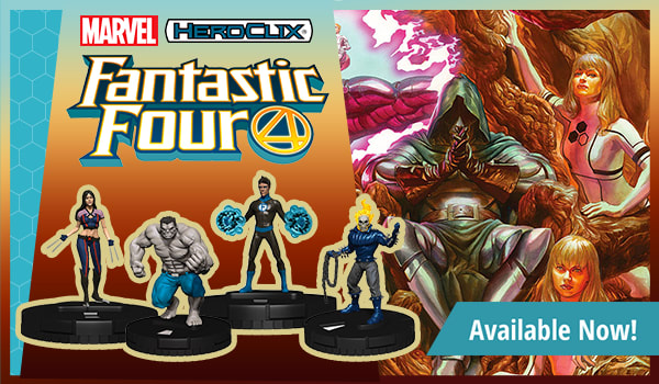 Marvel HeroClix Fantastic Four available now!