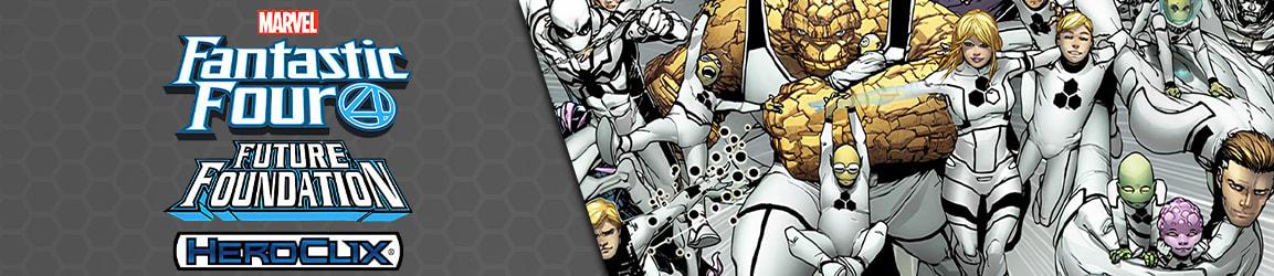 Heroclix - Marvel Fantastic Four Future Foundation