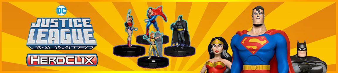 HeroClix - DC Justice League Unlimited