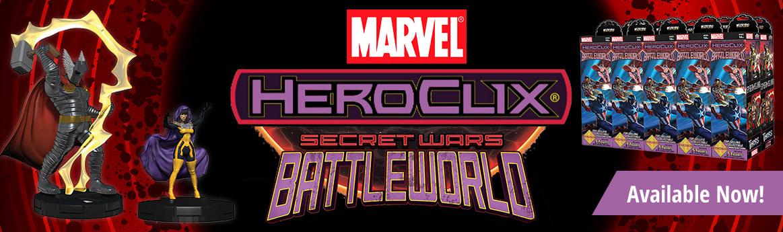 Marvel HeroClix: Secret Wars