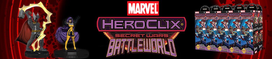 Marvel HeroClix: Secret Wars