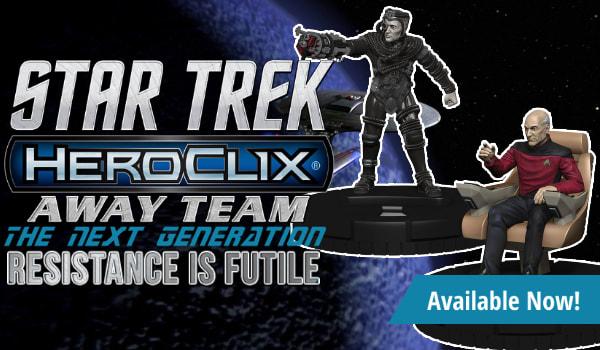 Star Trek HeroClix Away Team: The Next Generation - Resistance is Futile