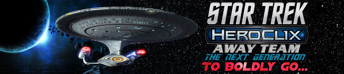 Heroclix - Star Trek Away Team: The Next Generation To Boldly Go...