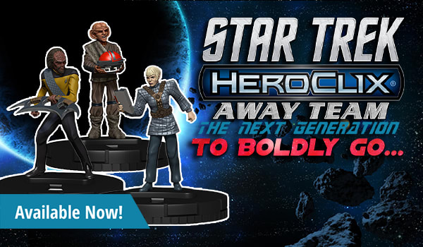 Star Trek Away Team: The Next Generation To Boldly Go  available now