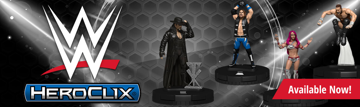 WWE Heroclix available now