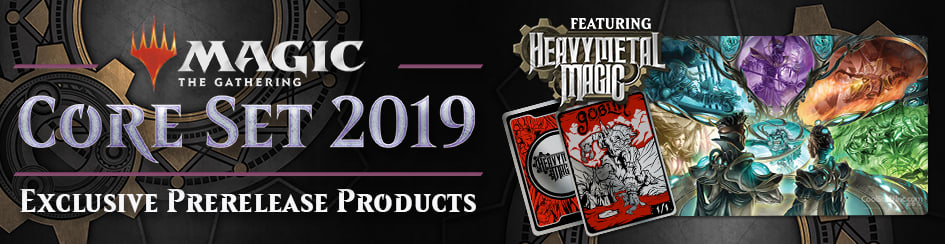 Magic: The Gathering - Core Set 2019 Heavy Metal Magic Products
