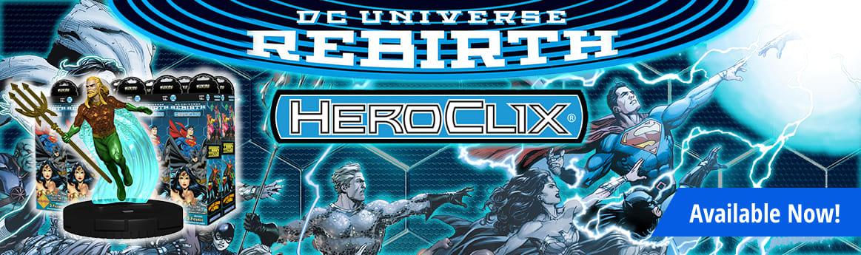 DC HeroClix - DC Rebirth