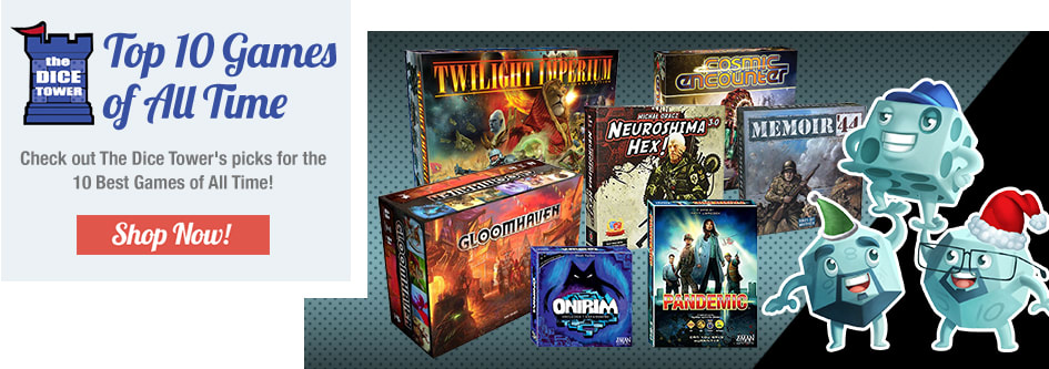 The Dice Tower's Top 10 Games