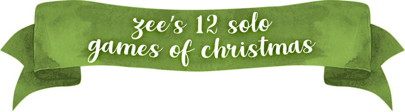 Zee's 12 Solo Games of Christmas