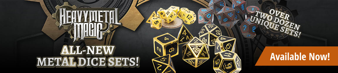 Heavy Metal Magic - Metal Dice Sets