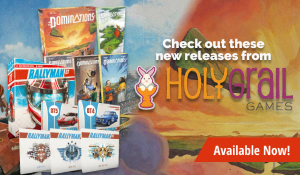 Holy Grail Games Releases available now
