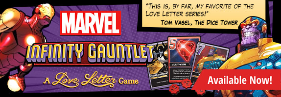 Marvel Infinity Gauntlet: A Love Letter Game available now!
