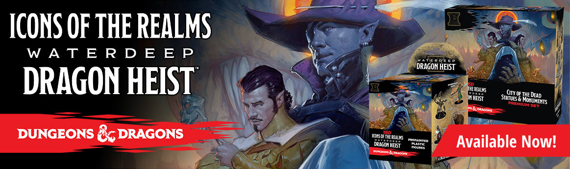 Dungeons and Dragons - Icons of the Realms: Waterdeep Dragon Heist