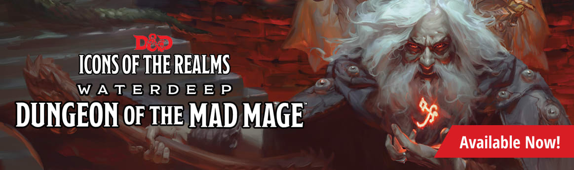 Dungeons and Dragons - Icons of the Realms: Waterdeep Dungeon of the Mad Mage