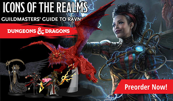 Dungeons and Dragons - Icons of the Realms: Guildmasters' Guide to Ravnica