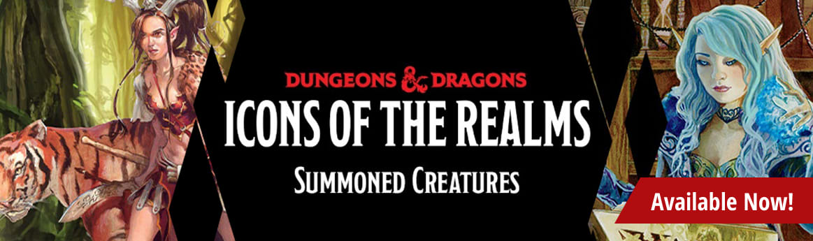 Dungeons & Dragons - Icons of the Realms: Summoning Creatures available now!