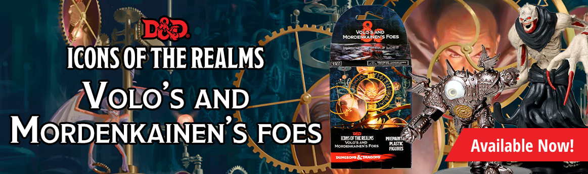 Dungeons & Dragons - Icons of the Realms: Volo & Mordenkainen's Foe available now