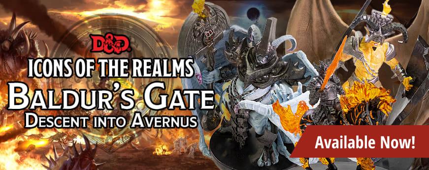 D&D Icons of the Realms - Baldur's Gate: Descent into Avernus