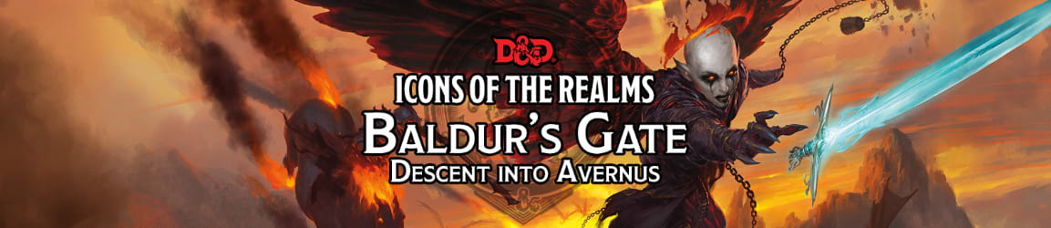 Dungeons & Dragons - Icons of the Realms: Baldur's Gate: Descent into Avernus