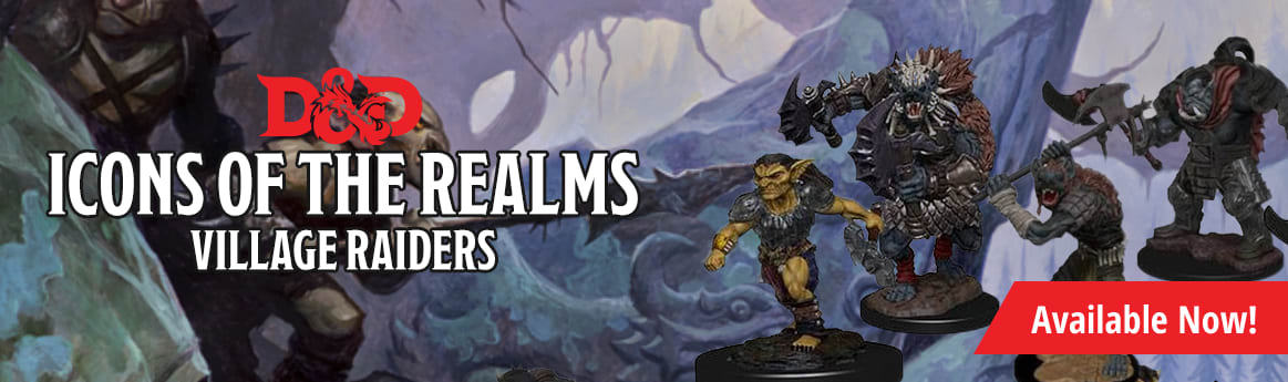 Dungeons and Dragons Icons of the Realms Monster Pack: Village Raiders available now