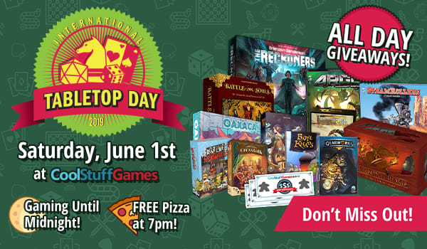CoolStuffGame International Tabletop Day 2019