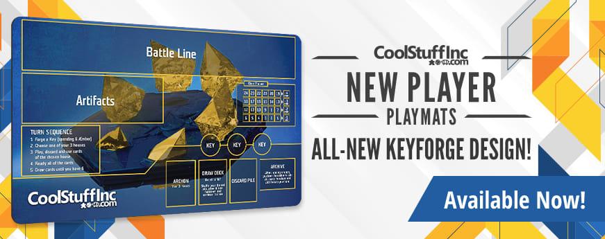 New Player Series - Keyforge Playmat V2