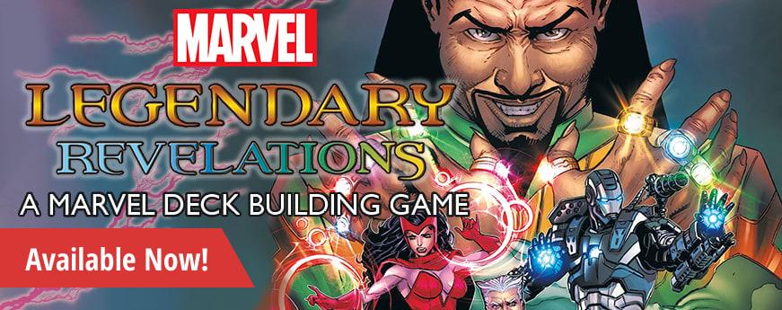 Legendary Deckbuilding Game Marvel Revelations