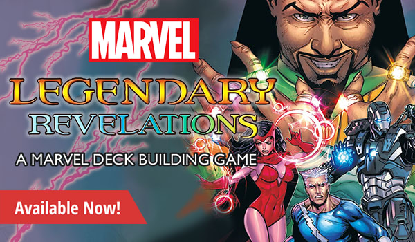 Legendary Deckbuilding Game Marvel Revelations