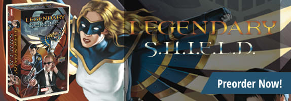 Preorder Legendary Marvel Deckbuilding Game: S.H.I.E.L.D. Expansion today