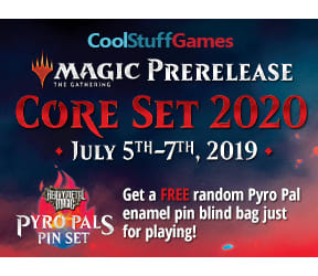CoolStuffGames Prerelease - Core Set 2020
